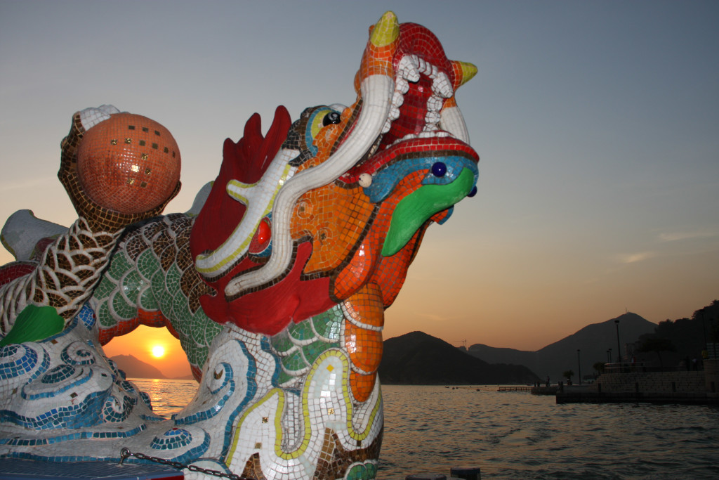 Sunset at Repulse Bay Hong Kong