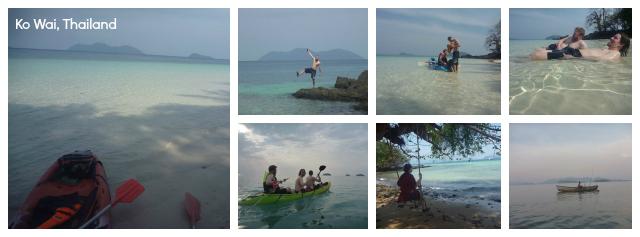 Kayaking Ko Wai Thailand