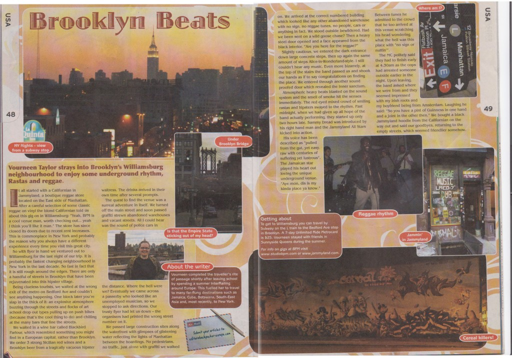 Brooklyn Beats - Backpacker Magazine