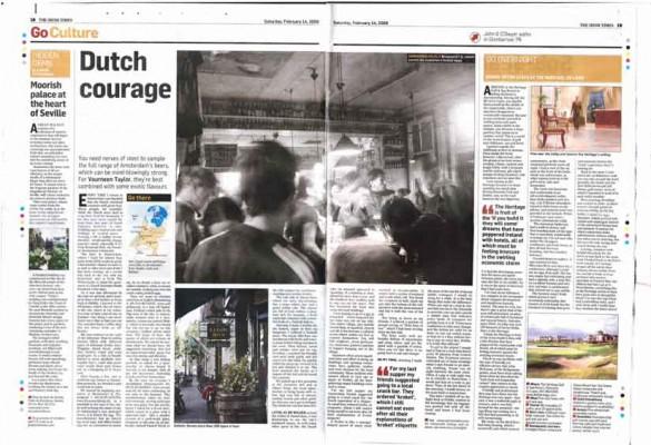 The Irish Times  - Dutch Courage