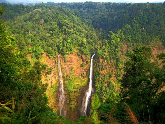 Tad Fan Waterfalls Bolavan Plateau Laos