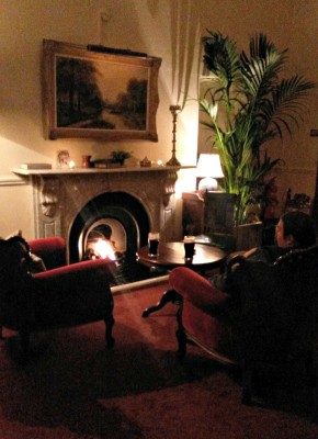 Open Fire at Residents Lounge