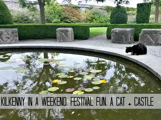 Butler House Gardens Kilkenny Cat