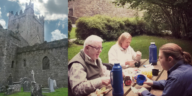 Jerpoint Abbey family Picnic Ireland