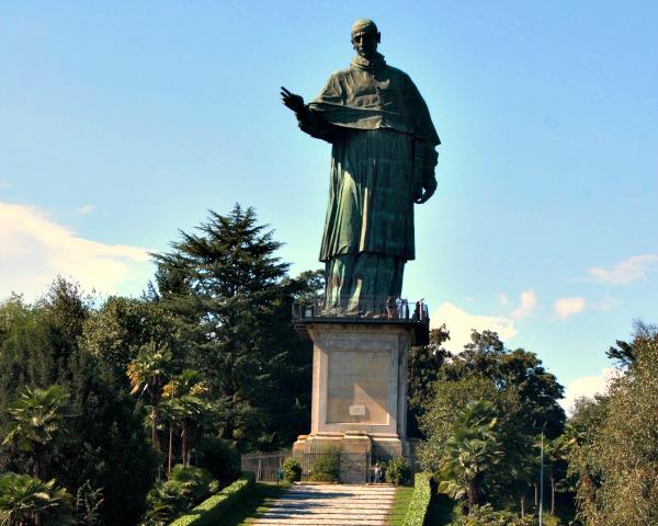 San Carlo Statue, Arona, Lake maggiore Italy