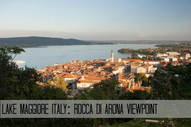 Visiting Rocca di Arona - Angera italy view