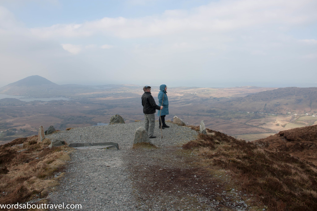 Viewing point at Connemara National Park
