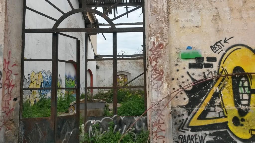 ex caserma liberata squat in Bari Italy
