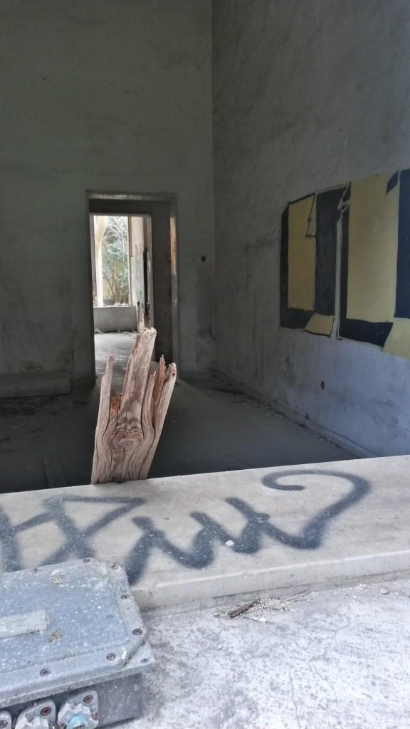 Inside ex caserma liberata