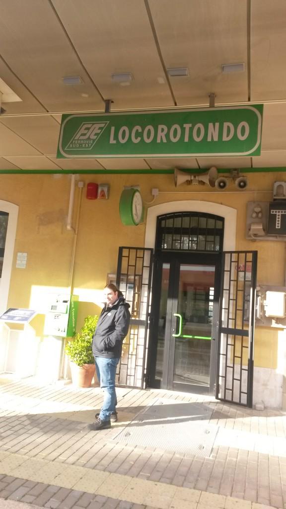 Locorotondo Train station Italy