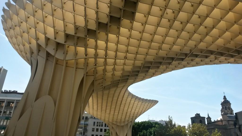 La Setas (mushroom) Seville