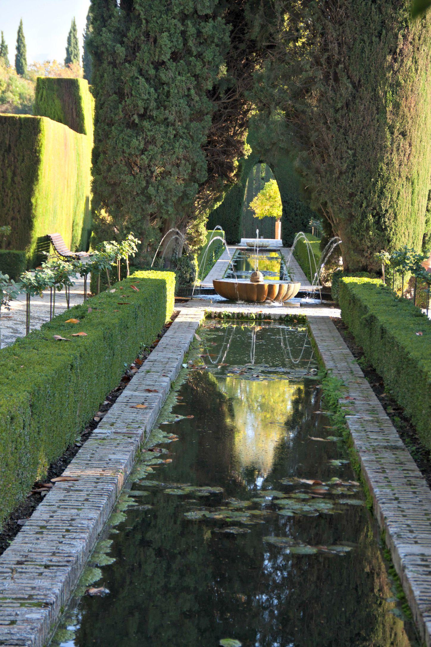 Alhambra Palace Gardens Granada small