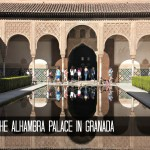 Visiting the Alhambra Palace Granada Spain