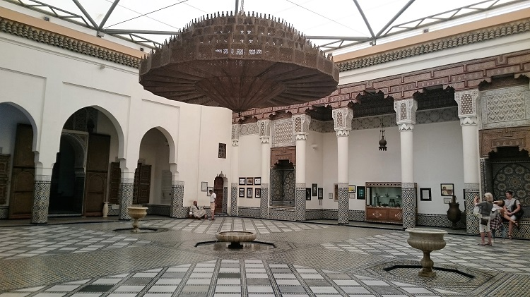 Marrakesh Museum old Dar Menebhi Palace