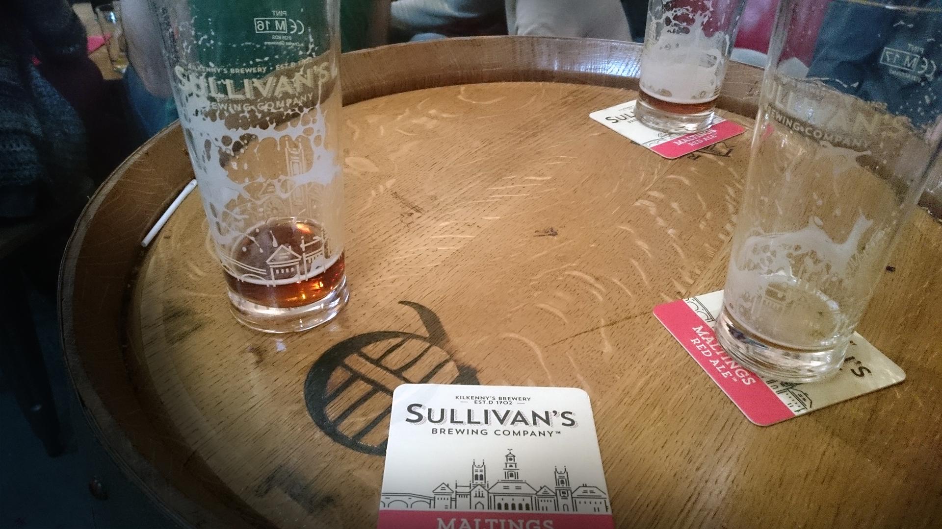 Sullivans kilkenny brewery