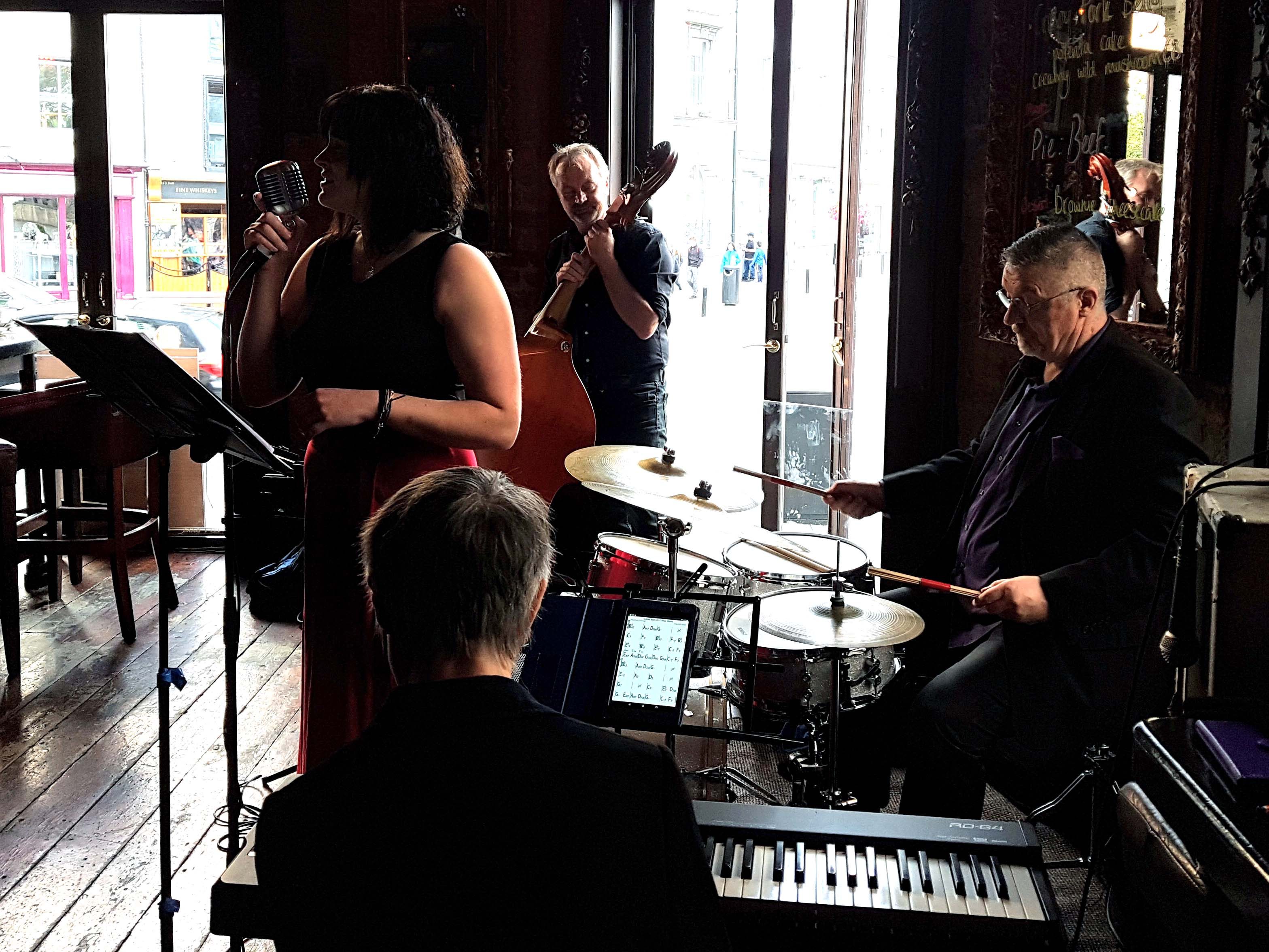 Sunday afternoon jazz in left bank kilkenny