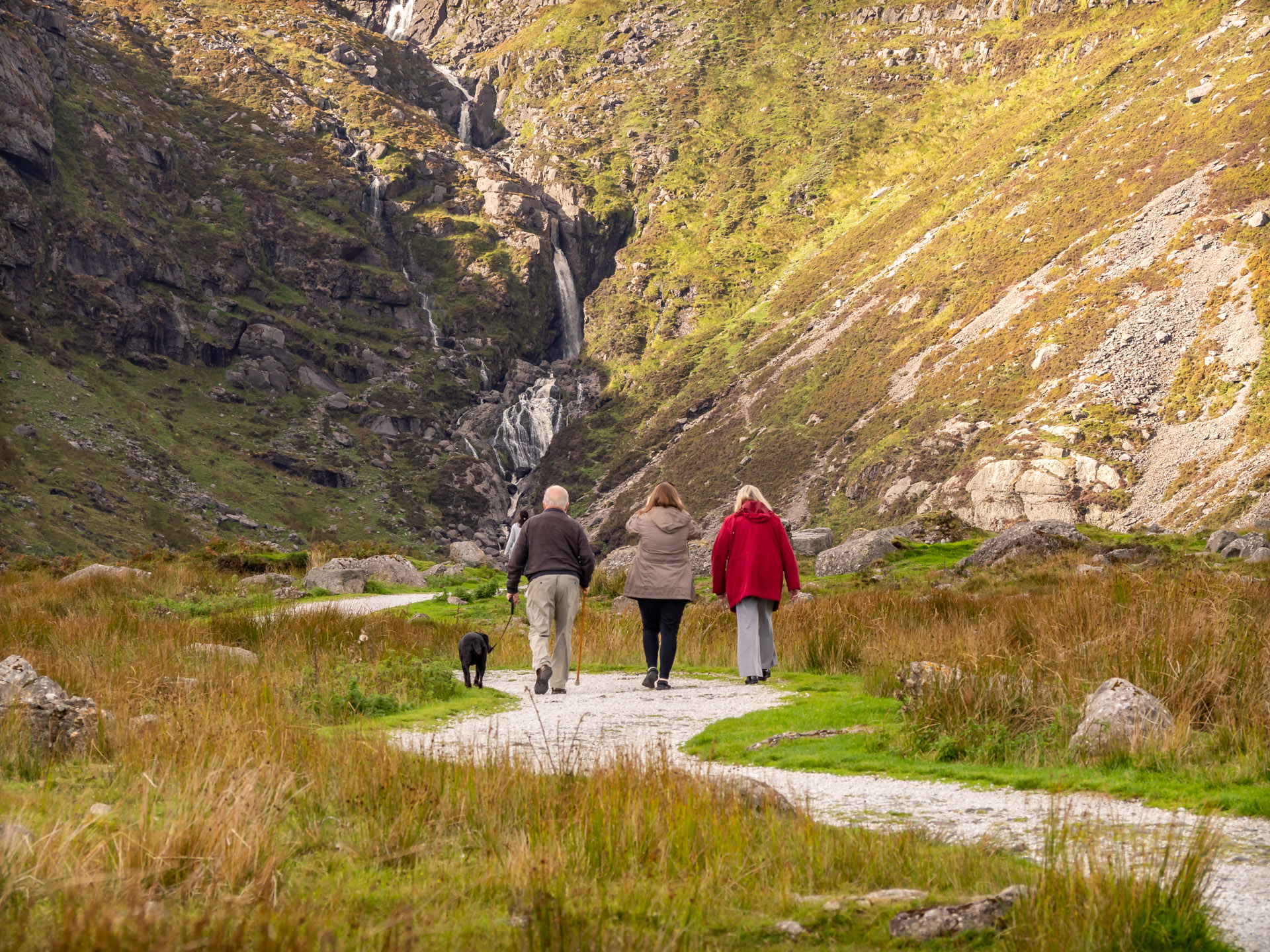 Family Walk Mahon Falls Waterford