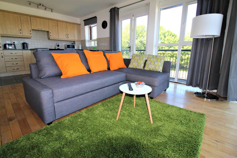 Belfast Airbnb near Botanic Ave.