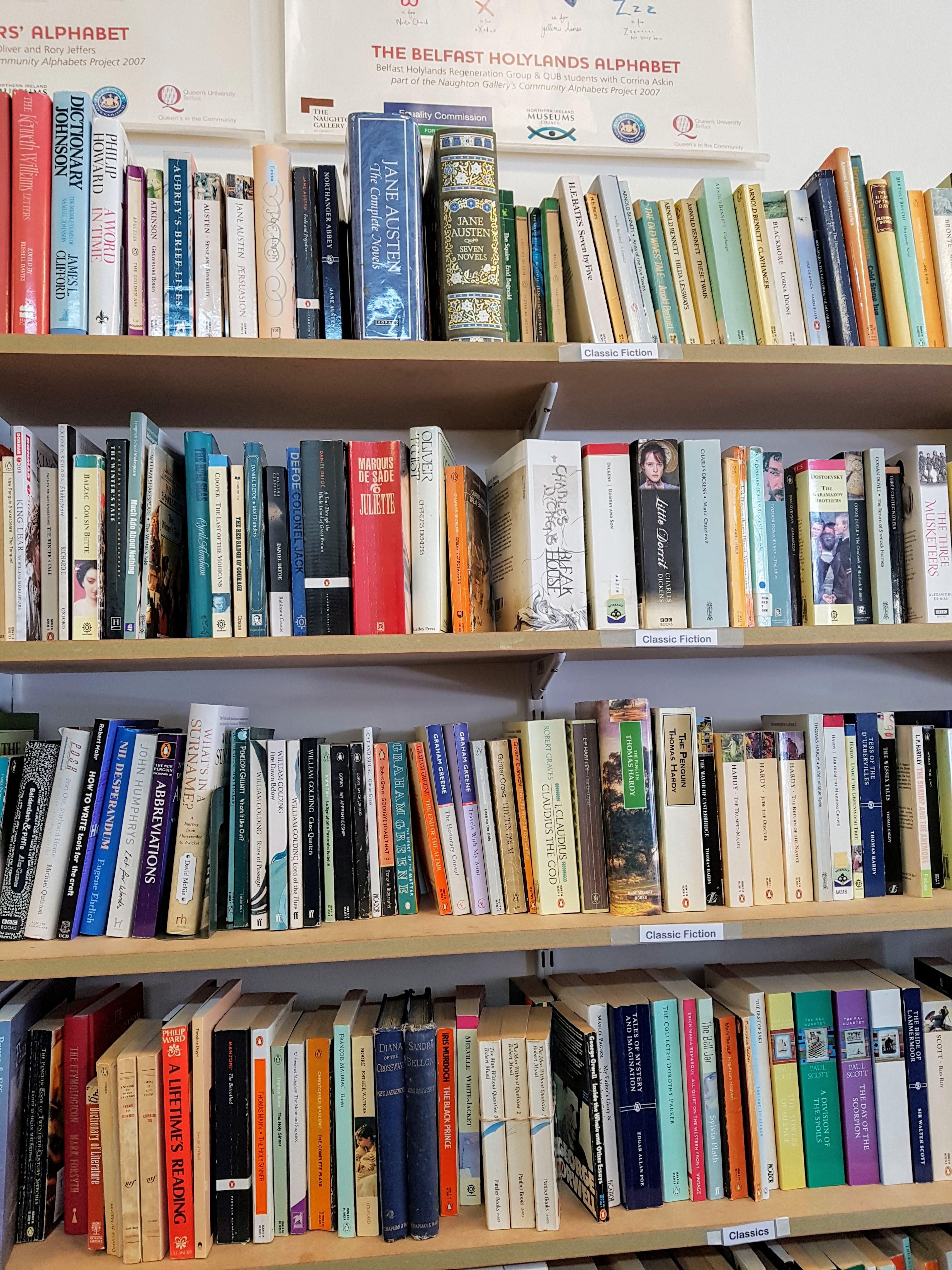 Oxfam Books Botanic Ave. Belfast
