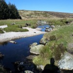 River crossing at Tonelagee